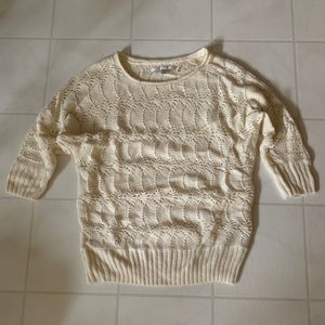 Lauren Conrad Cream Sweater